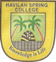 HAVILAH SPRING COLLEGE - Secondary